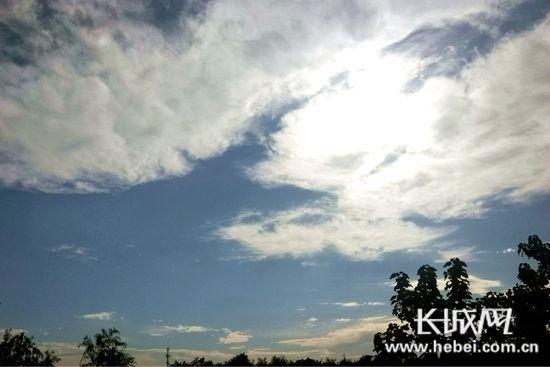 【燕赵妹说天气】立秋时节高温相随<br>中南部最高气温达35度 注意防暑降温