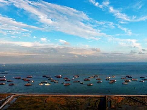 唐山:船舶回港防御风暴潮