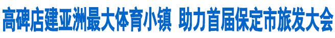 高碑店建亚洲最大体育小镇 助力首届保定市旅发大会