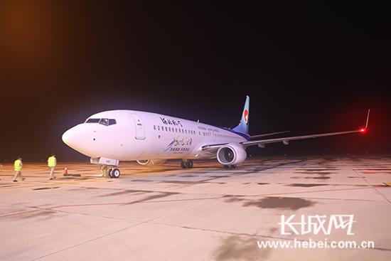 河北航空第21架飞机入列 石家庄机场驻场运力达33架