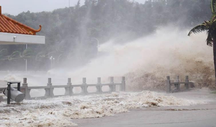 """14级台风""""天鸽""""正面来袭 9张图告诉你它的威力"""