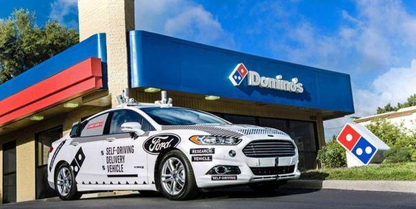 福特9月在美启动无人驾驶汽车送货测试