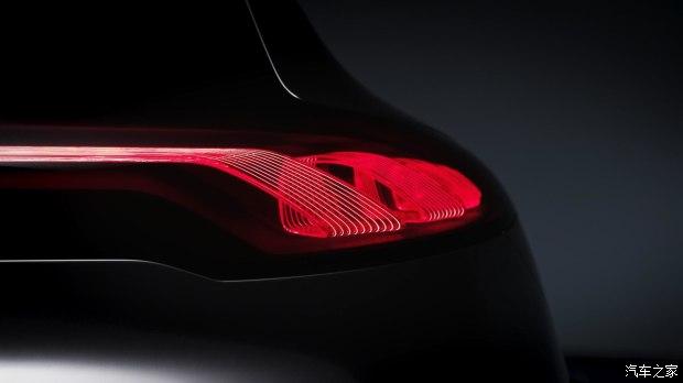 使用OLED灯组 奔驰EQA概念车最新预告图