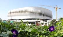 澳门金沙赌场首个穹顶结构体育馆