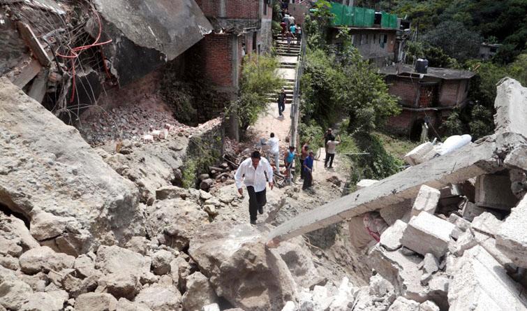 【最新现场图】墨西哥中部发生7.1级地震