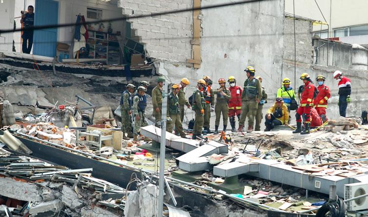墨西哥地震死亡人数升至273人 3名台胞罹难