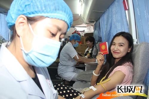 沧州市传染病医院组织开展无偿献血活动