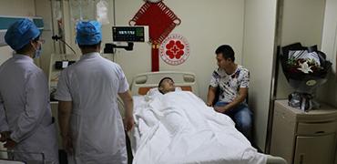 96年廊坊小伙为血液病患者捐献造血干细胞190ml