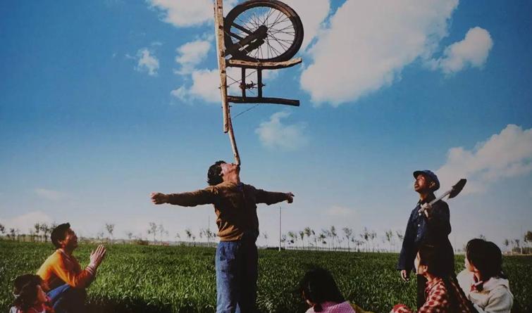 一组老照片,告诉你真正的沧州吴桥杂技!