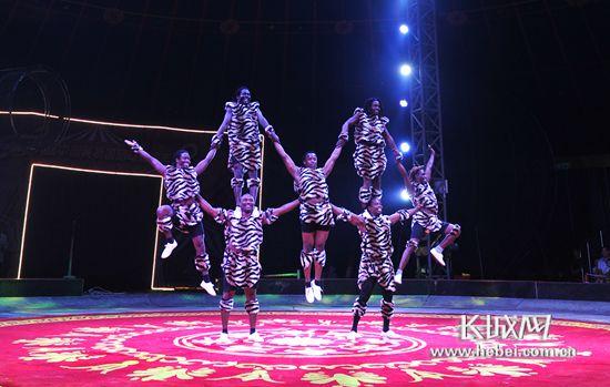 国际杂技艺术节马戏嘉年华盛大开幕