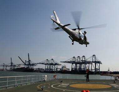 中石油海上应急中心参加北疆水域海上综合搜救演习
