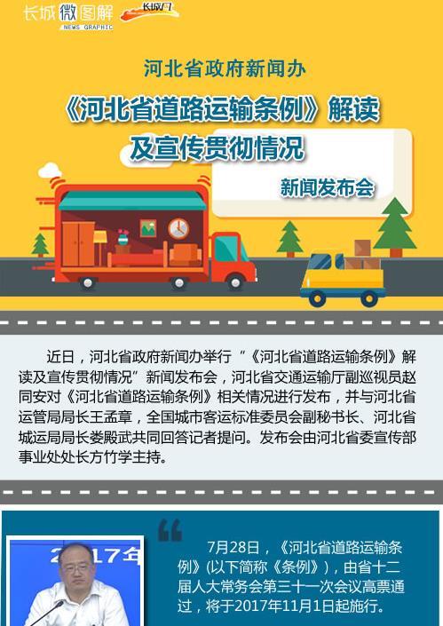 《河北省道路运输条例》解读及宣传贯彻情况