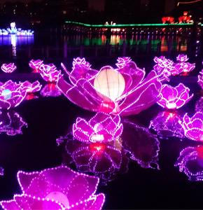 中秋习俗——玩花灯