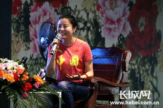 为爱分享 感动中国获奖者、两届残奥会冠军为华北理工学子讲述励志故事