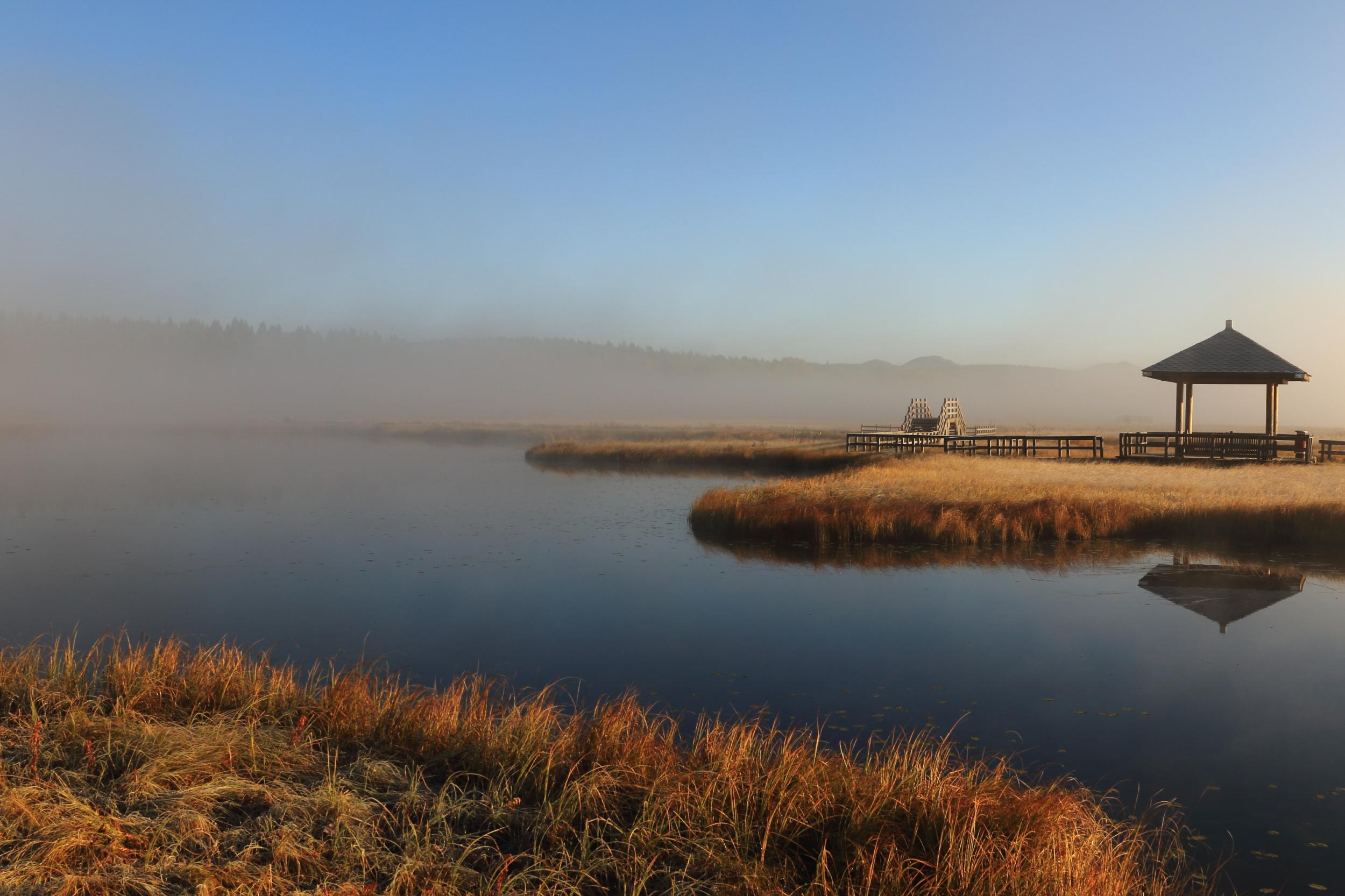 塞罕坝国家森林公园七星湖