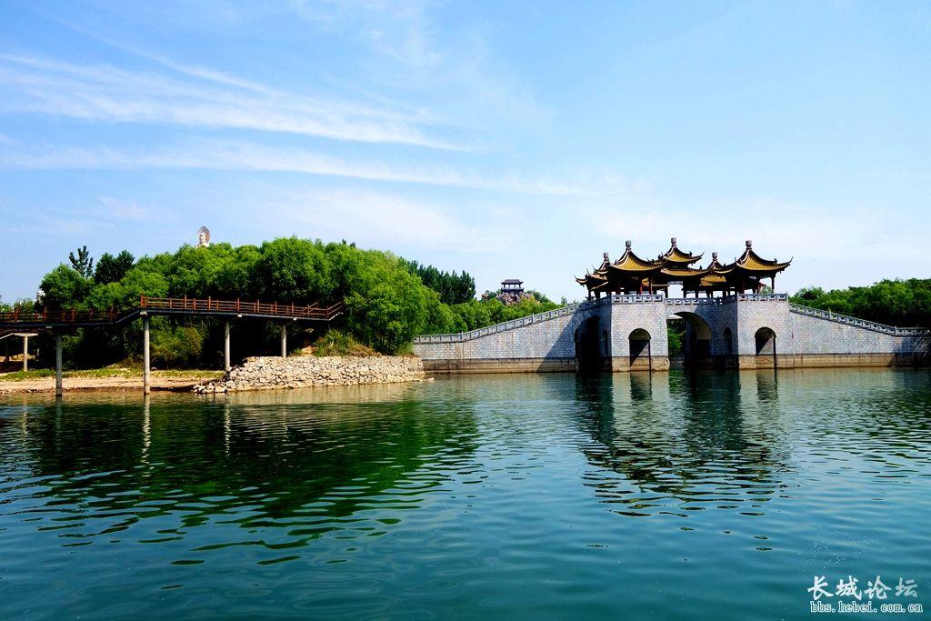 山灵水秀岐山湖