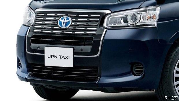 这是一台出租车 丰田JPN Taxi官图发布