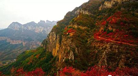 仙界山,也叫老道旮旯,坐落在河北邢台市西部山区西北的冀家村乡