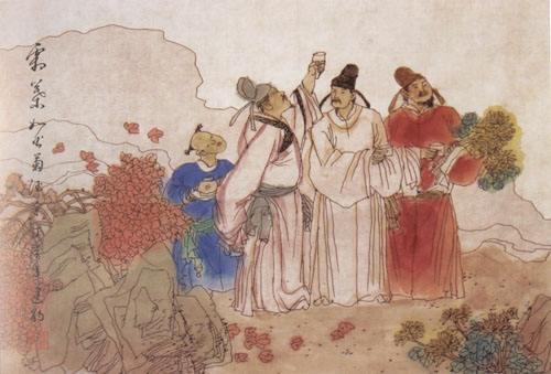古诗词里的重阳节