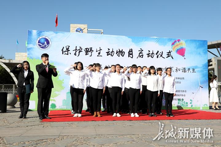 """河北省开展""""保护野生动物宣传月""""主题宣传活动"""