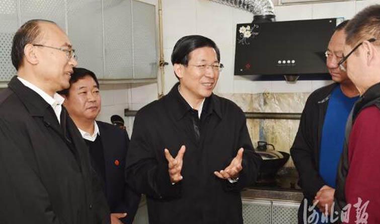 王东峰、许勤在雄安新区调研