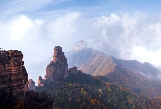 征途九女峰·看河北最美山峦