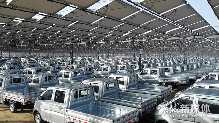 河北长安公司12兆瓦光伏发电项目顺利完工