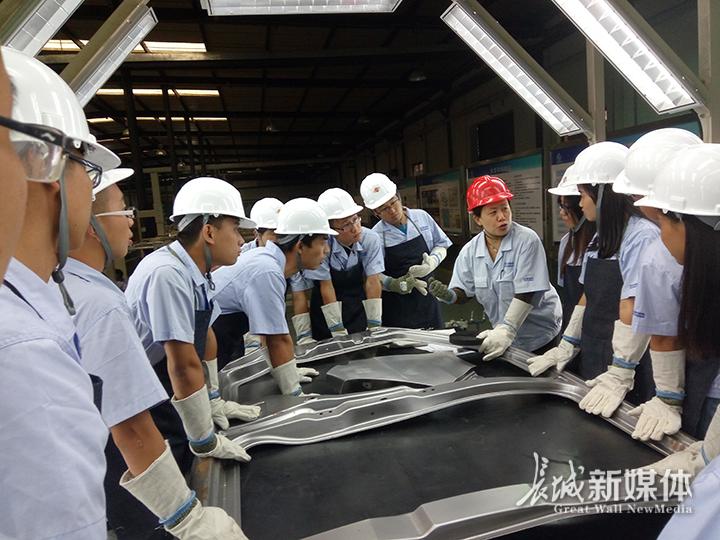 河北长安公司组织工人进行车间现场培训