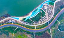 滹沱河两岸三色风景路