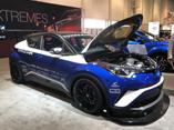 2017 SEMA展:600马力改装丰田C-HR赛车