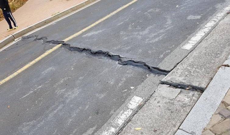 韩国浦项市发生地震