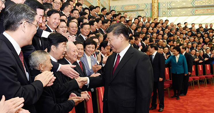 习近平会见全国精神文明建设表彰大会代表
