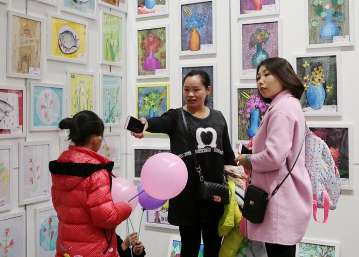 【十九大精神在基层】放飞青春梦想 固安县举办首届青少年图书绘画展