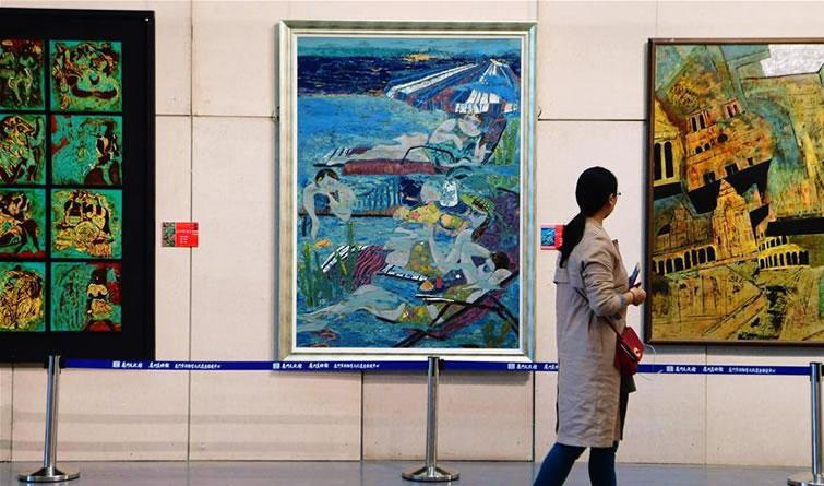 2017中国(厦门)漆画展在厦门开幕
