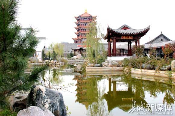 邢台兴台古镇景区。