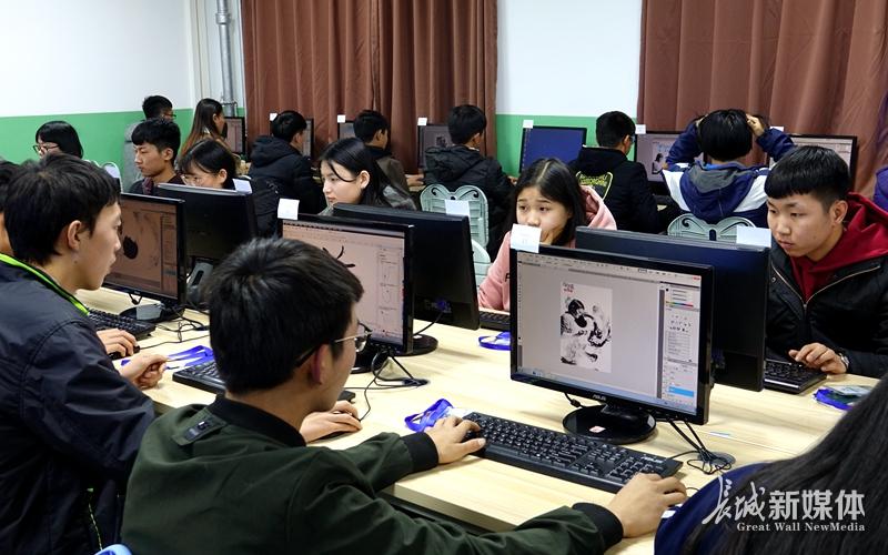 石家庄职业学校:计算机类技能比赛紧贴行业前沿
