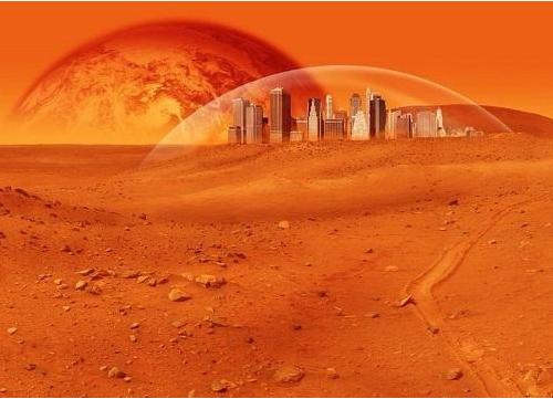 """阿联酋:虚拟视频体验""""定居火星"""""""