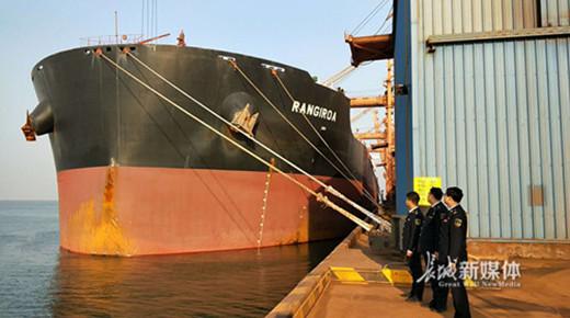 沧州海事局保障20万吨级船舶安全靠港突破百艘