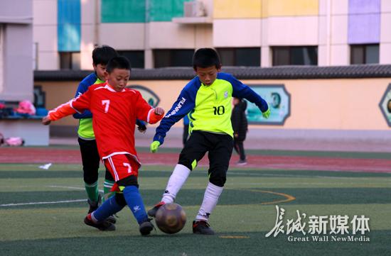 海港区校园足球联赛开赛