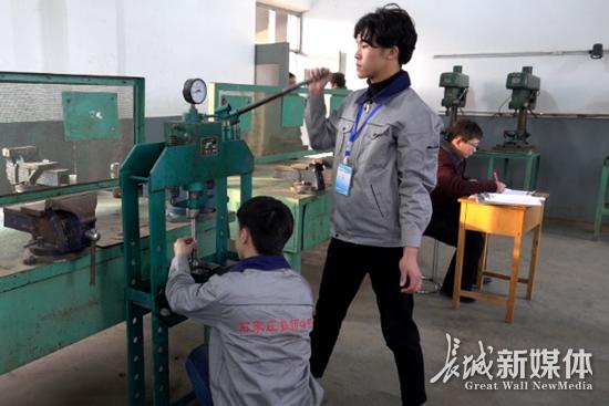 石家庄职校学生技能大赛严格比赛标准夯实就业基础