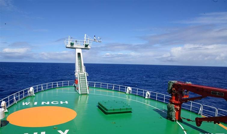 中国首次环球海洋综合科考第三航段任务圆满结束