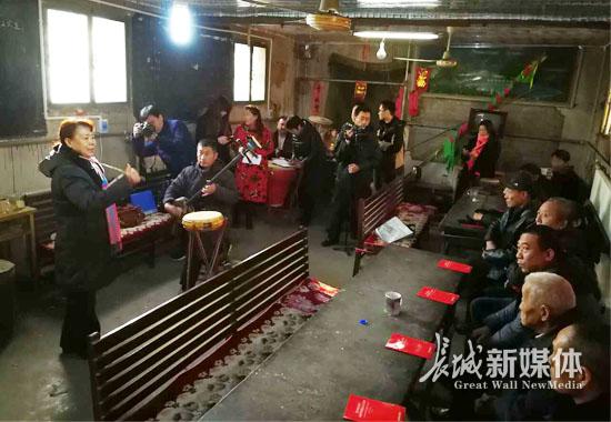 容城县新时代文艺宣传队基层演出拉开帷幕