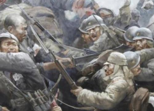 日军刺刀下的中国人 真实影像记录南京大屠杀