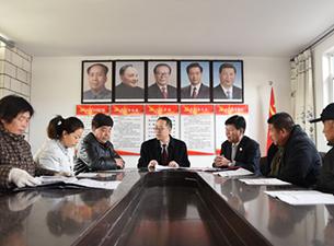 """河北迁西:为村""""两委""""班子宣讲党的十九大精神"""