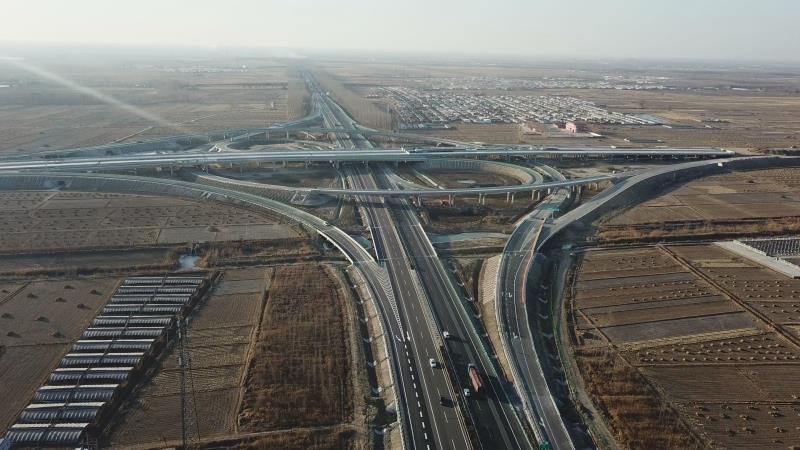 殊的新年礼物 迁曹高速公路项目竣工通车