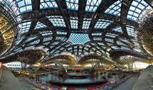 北京新机场主航站楼工程封顶