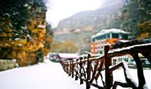 雪落天河山