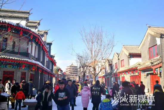 易县多景区推出冬季旅游项目 冬季游日渐火爆