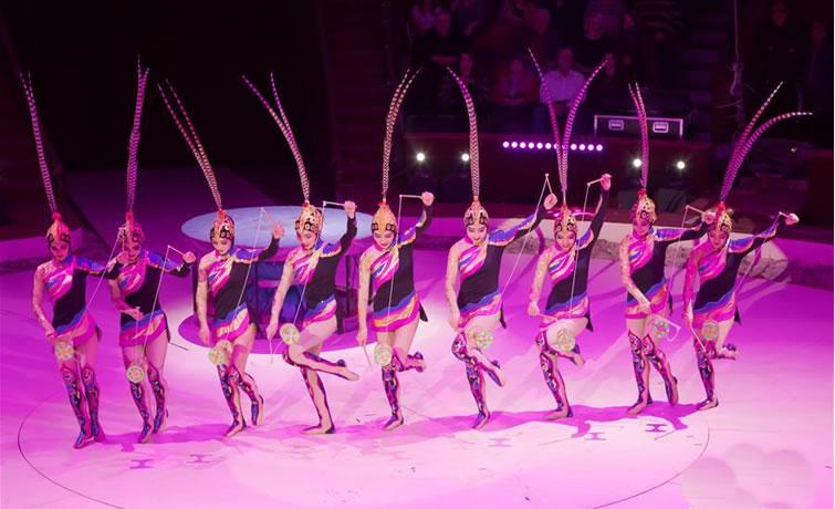 中国杂技团获布达佩斯国际马戏节两项金奖