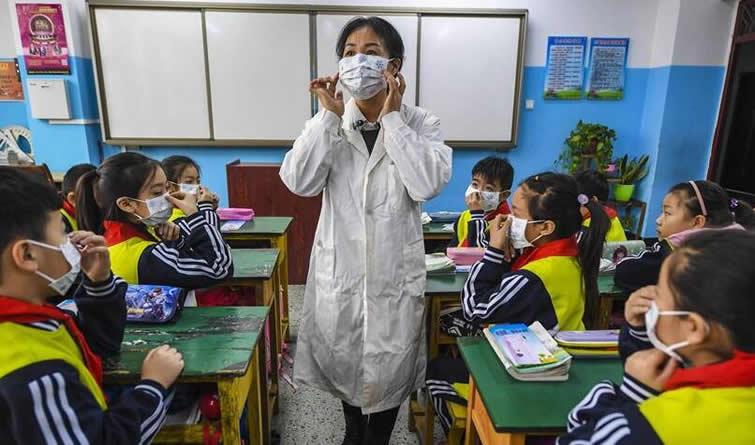 河北广阳:关注学生健康 做好冬季流感防控